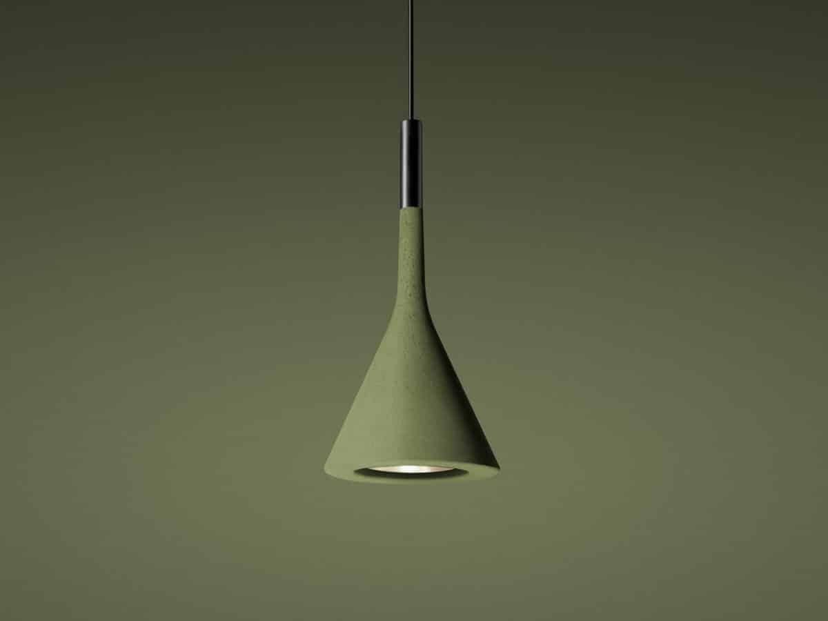 Foscarini hanglamp Aplomb groen