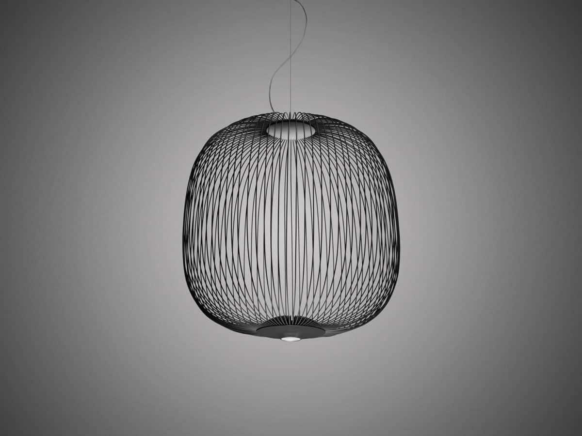 Foscarini hanglamp Spokes2 zwart
