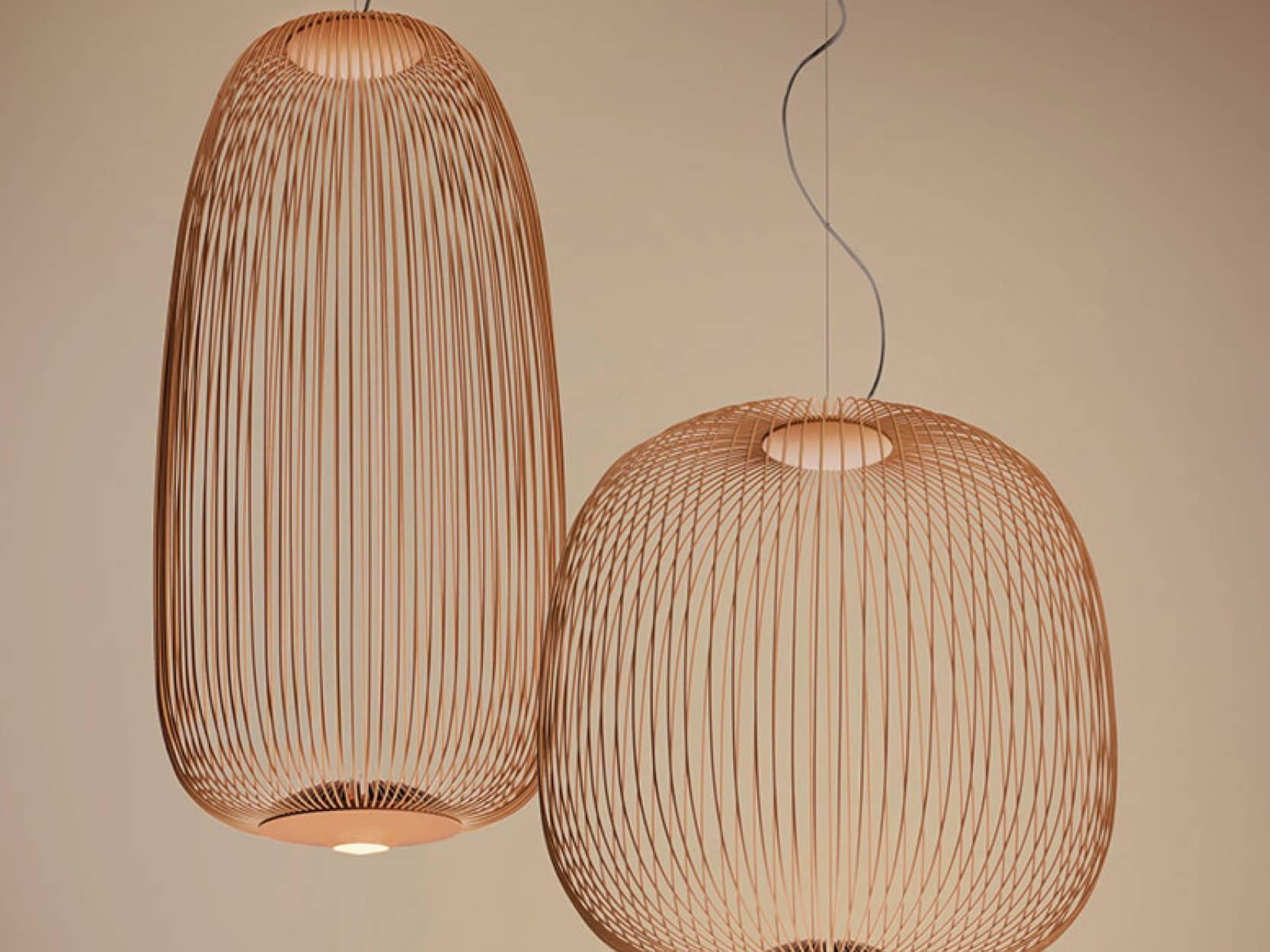 Foscarini hanglamp Spokes2 koper