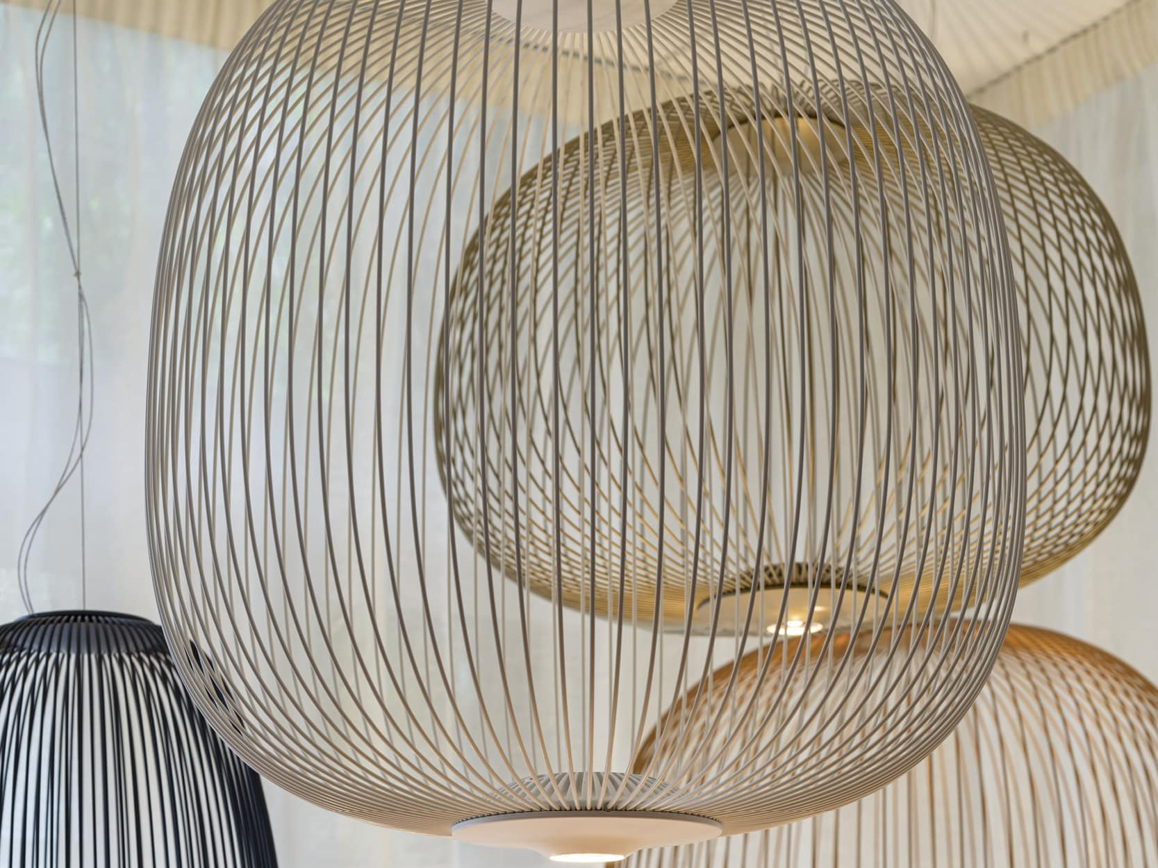 Foscarini hanglamp Spokes3 detail