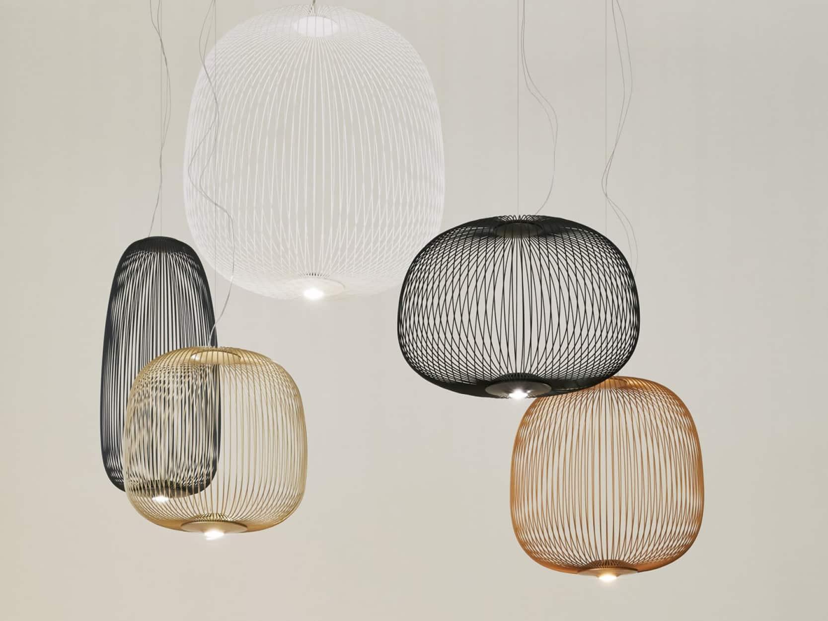 Foscarini hanglamp Spokes3 sfeer licht
