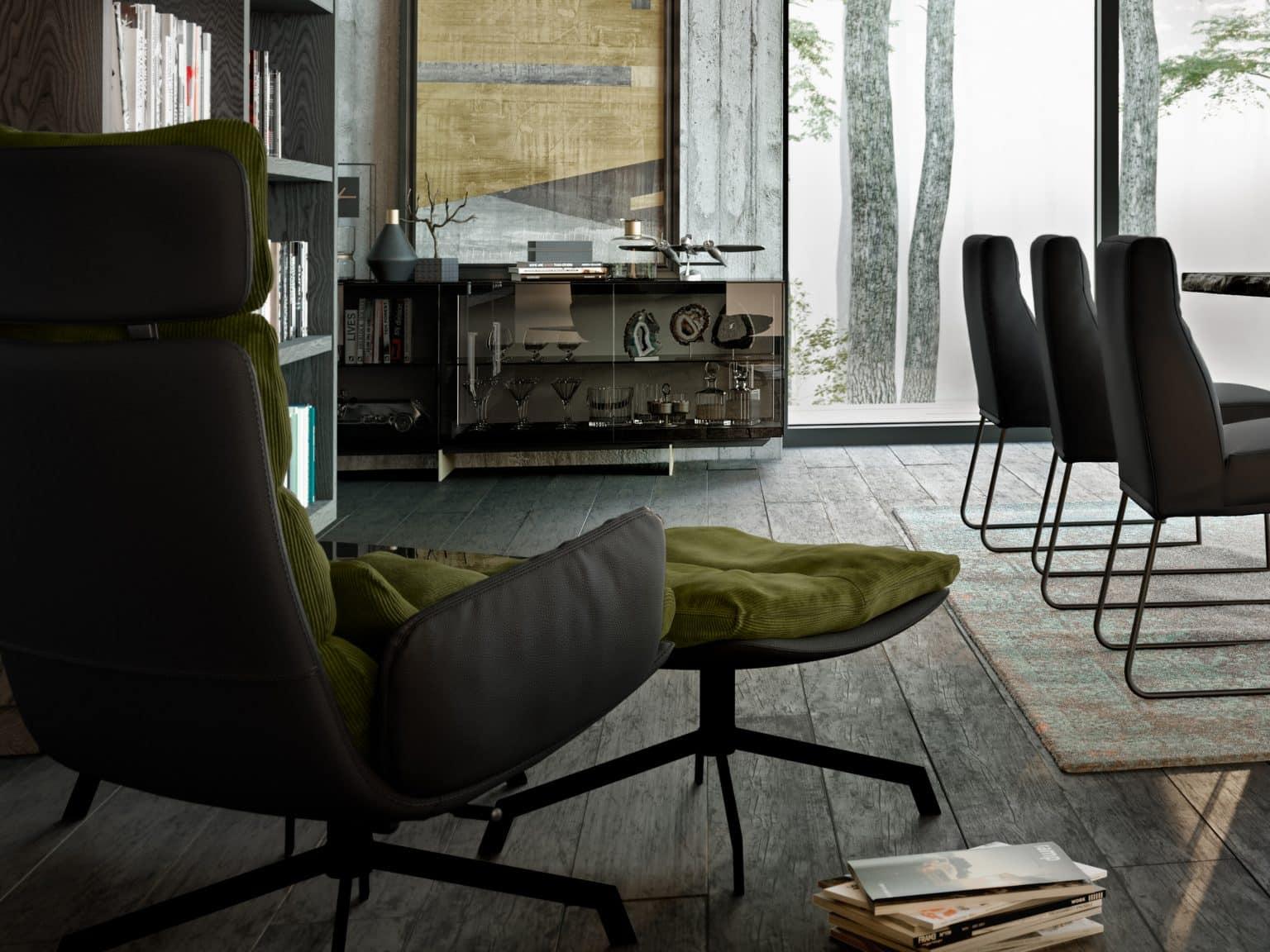 KFF fauteuil Arva lounge sf
